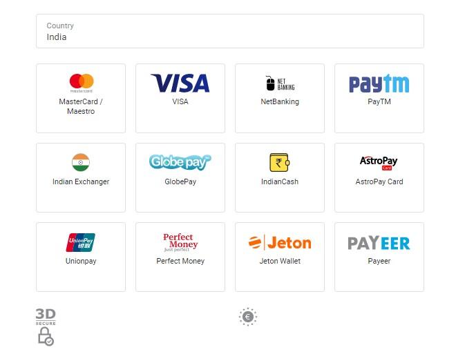 Binomo Deposit India
