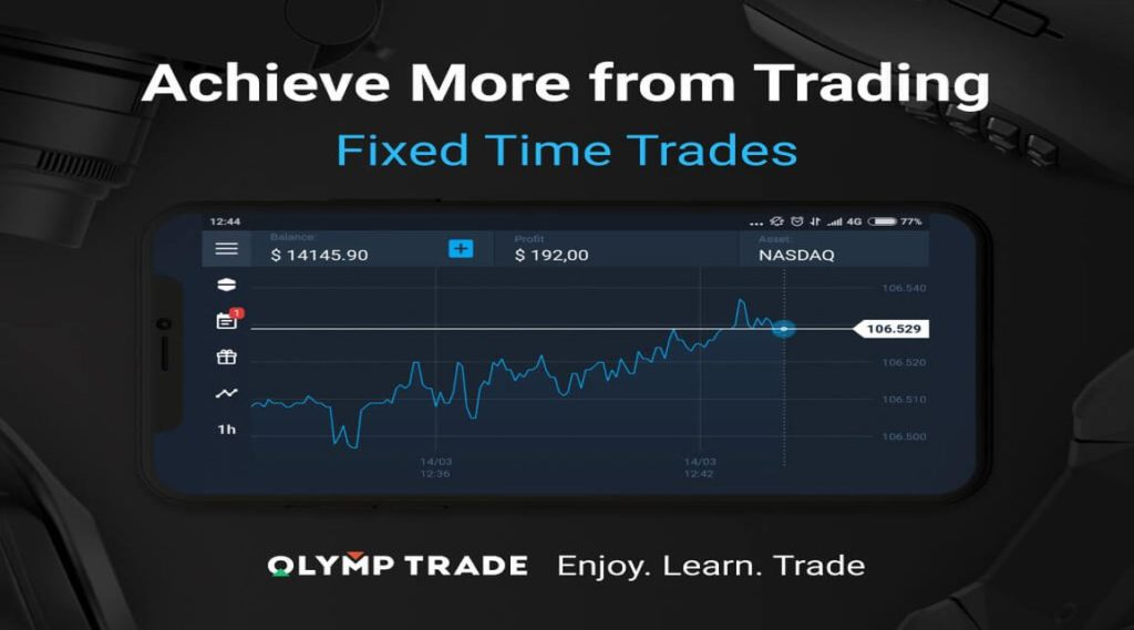 Olymp Trade Fixed Time Trading